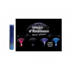 LAMPE D'AMBIANCE FIBRE LUMINEUSE 22X7 CM
