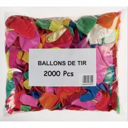 BALLONS DE TIR - SACHET DE 2000 PIECES