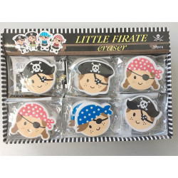 GOMME PIRATE 4*4 CM