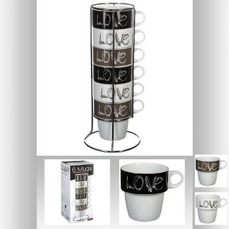 MUGS RACK LOVE
