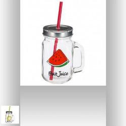 MASON JAR DECO FRUIT 45 CL