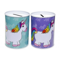TIRELIRE LICORNE METAL