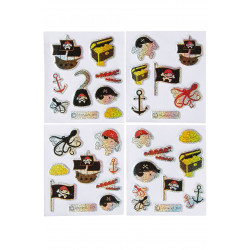 STICKERS BRILLANTS PIRATE