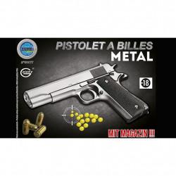 PISTOLET METAL A BILLES 22 CM