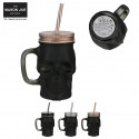 MASON JAR TM BLACK MAT 380ML