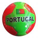 BALLON DE FOOT SIMILI CUIR PORTUGAL 23 CM