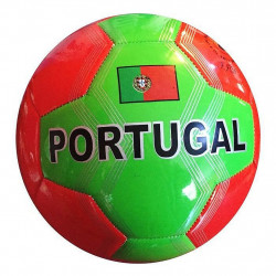 BALLON DE FOOT SIMILI CUIR PORTUGAL 23 CM