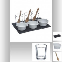 SET APERITIF 10 PIECES CASSOLETTES