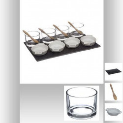 SET APERITIF 13 PIECES CASSOLETTE