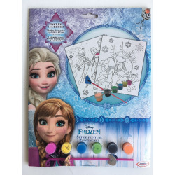 SET DE PEINTURE DISNEY ASSORTIS 29*22 CM