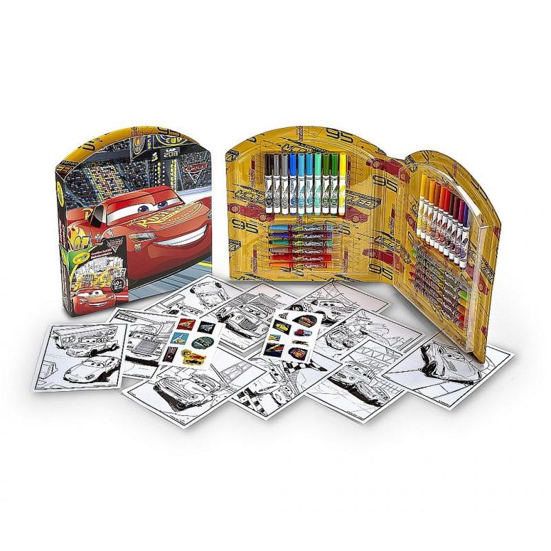 Malette creative coloriage cars 3 - Coloriage cars 3 ...