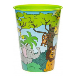 GOBELET ANIMAUX JUNGLE 260 ML