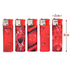BRIQUET RECHARGEABLE LOVE ROUGE