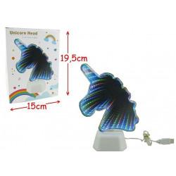 LAMPE USB NEON LED LICORNE
