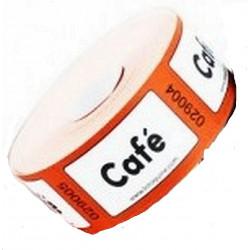 ROULEAU DE 1000 TICKETS CAFE