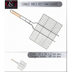 GRILLE BARBECUE 68X36X2 CM