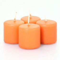 BOUGIE VOTIVE ORANGE