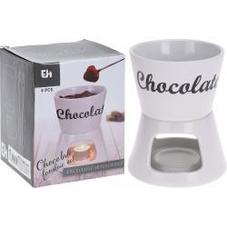 FONDUE AU CHOCOLAT, PORCELAINE