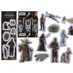 STIKERS 3D STAR WARS 6 CM