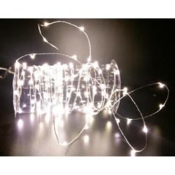 GUIRLANDE EXTERIEUR 100 LED BLANC