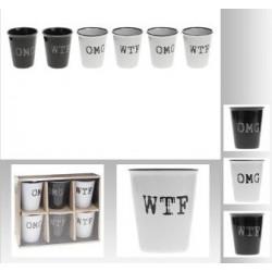 COFFRET 6 TASSES 10 CL