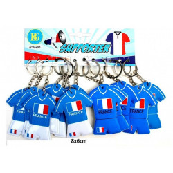 PORTE-CLE MAILLOT DE FOOT FRANCE