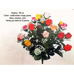 BOUQUET ROSE MULTI COULEUR