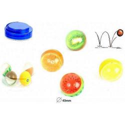 BALLE REBONDONDISSANTE 4.3 CM FRUIT