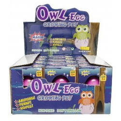 OEUF HIBOU GROSSISSANT 6.5 CM