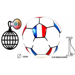 BALLON DE FOOT FRANCE DIAMETRE 25 CM