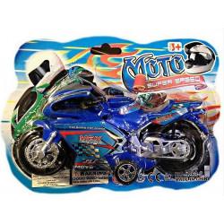 MOTO PILOTE RETRO-FRICTION 18 CM