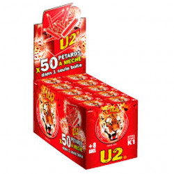 PETARDS A MECHES LE TIGRE U2 - NEW REGLEMENTATION