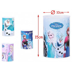 TIRELIRE METAL FROZEN 15*10 CM