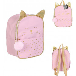 SAC A DOS CHAT ROSE