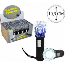 TORCHE NOIRE LED 10.5 CM