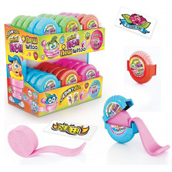 CHEWING-GUM MINI ROLL TATTOO JOHNY BEE