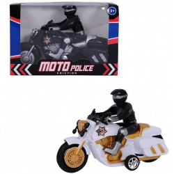 MOTO POLICE FRICTION 18 CM