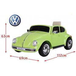 VW BEETLE PORTEUR VERTE ELECTRIQUE